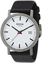 Boccia 3538-01 Herren-Armbanduhr