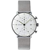 Junghans max bill Chronoscope 027/4003.44 Herrenarmbanduhr