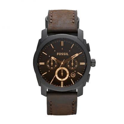 Fossil Herren-Armbanduhr Machine Analog Quarz Fs4656