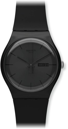 Swatch Black Rebel SUOB702 Unisex-Armbanduhr