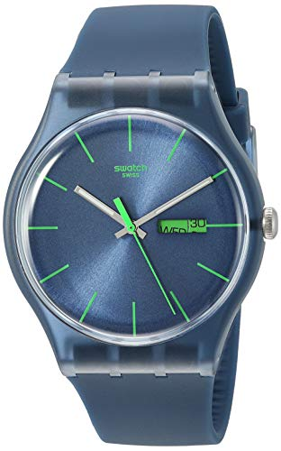Swatch Blue Rebel SUON700 Damen-Armbanduhr
