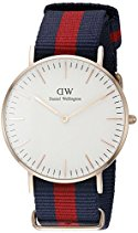 Daniel Wellington Damen-Armbanduhr Oxford Analog Quarz Nylon 0501DW