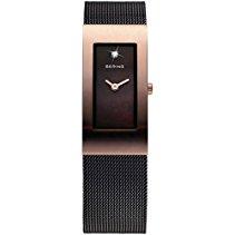 Bering Time Damen-Armbanduhr XS Classic Analog Quarz Edelstahl 10817-262