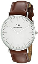 Daniel Wellington Damen-Armbanduhr St Andrews Analog Quarz Leder 0607DW