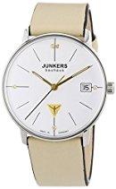 Junkers Damen-Armbanduhr XS Bauhaus Analog Quarz Leder 60735