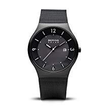 Bering Time Herren-Armbanduhr XL Analog Quarz Edelstahl 14440-222