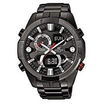 Casio Edifice Herren Armbanduhr Stoppuhr Datum Edelstahl 100m ERA-201BK-1AVEF