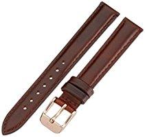 Daniel Wellington Damen-Uhrenarmband Classy St. Mawes Leder braun Schlie?Ÿe rosegold 1000DW