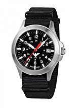 KHS Tactical Watches Platoon C1 KHS.PC1.NB Edelstahl Nato Black