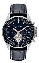 Gigandet VOLANTE Herren Armbanduhr Chronograph Analog Quarz Schwarz Blau G3-008
