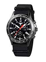 KHS Tactical Watches Black Platoon Chronograph C1 KHS.BPCC1.NB Edelstahl IPB