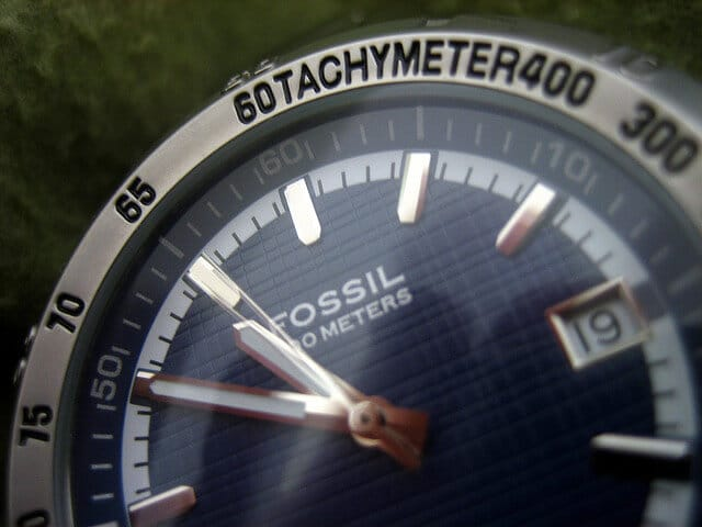 tachymeter fossil