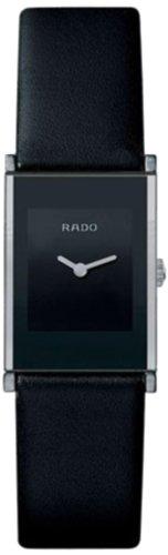 Rado Damen-Armbanduhr XS Analog Quarz Leder 153.0786.3.116