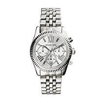 Michael Kors Damen-Armbanduhr Lexington Chronograph Quarz Edelstahl MK5555