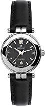 Michel Herbelin Damen-Armbanduhr 12856/14N Damen-Armband, Leder, Farbe: schwarz