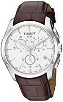 Tissot Herren-Armbanduhr Couturier Leder Chrono T0356171603100