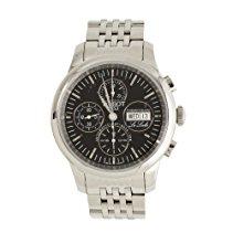 Tissot Herren-Armbanduhr Le Locle Valjoux Chronograph Quarz T41138751