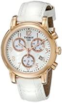 Tissot Damen-Armbanduhr Dressport Leder T0502173611200