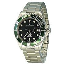 Revue Thommen Herren-Armbanduhr XL Diver Analog Automatik Edelstahl 17571.2134