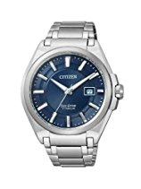 Citizen Herren-Armbanduhr XL Super Titanium Analog Titan BM6930-57M