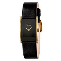 Rado Damen-Armbanduhr XS Analog Quarz Leder 153.0789.3.115