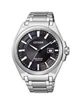 Citizen Herren-Armbanduhr XL Super Titanium Analog Titan BM6930-57E
