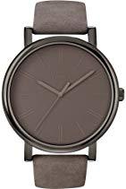 Timex Trend Damen-Armbanduhr Analog leder grauT2N795D7