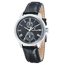 Thomas Earnshaw Herren-Armbanduhr Thomas Earnshaw Cornwall Watch - ES-8002-01 Analog Leder Schwarz ES-8002-01
