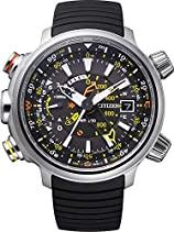 Citizen Herren-Armbanduhr XL Promaster Land - Altichron Analog Quarz Kautschuk BN4021-02E