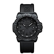Luminox Herren-Armbanduhr XL Navy Seal Colormark Analog Quarz Plastik A.3051.BO