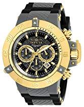 Invicta Herren-Armbanduhr XL Chronograph Quarz Kautschuk 0930