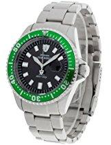 DETOMASO Herren-Armbanduhr SAN REMO SOLAR Analog Quarz DT1039-B