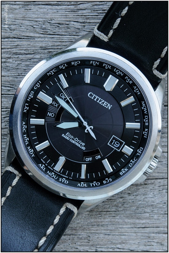 citizen eco drive test