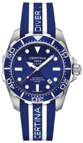 Certina Herren-Armbanduhr XL Analog Automatik Kautschuk C013.407.17.041.00