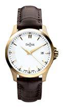 Davosa Herren-Armbanduhr Analog weiss 16246715