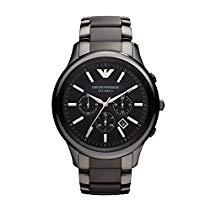Emporio Armani Herren-Armbanduhr XL Chronograph Quarz Edelstahl AR2453