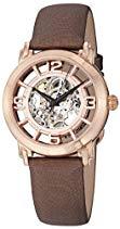 Stuhrling Damen Winchester Armbanduhr Analog Automatik Braun 156.124T14