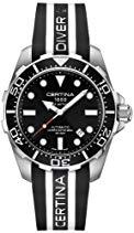 Certina Herren-Armbanduhr XL Analog Automatik Kautschuk C013.407.17.051.01