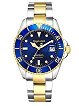 Gigandet SEA GROUND Automatik Herren Armbanduhr 'G2' Taucheruhr mit Edelstahlarmband - G2-001
