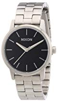 "Nixon Damen-Armbanduhr A361000-00, ""The Small Kensington Black"", Analog Quarz Edelstahl"