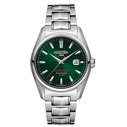 Roamer Herren-Armbanduhr Searock Analog Automatik Edelstahl 210633 SM5