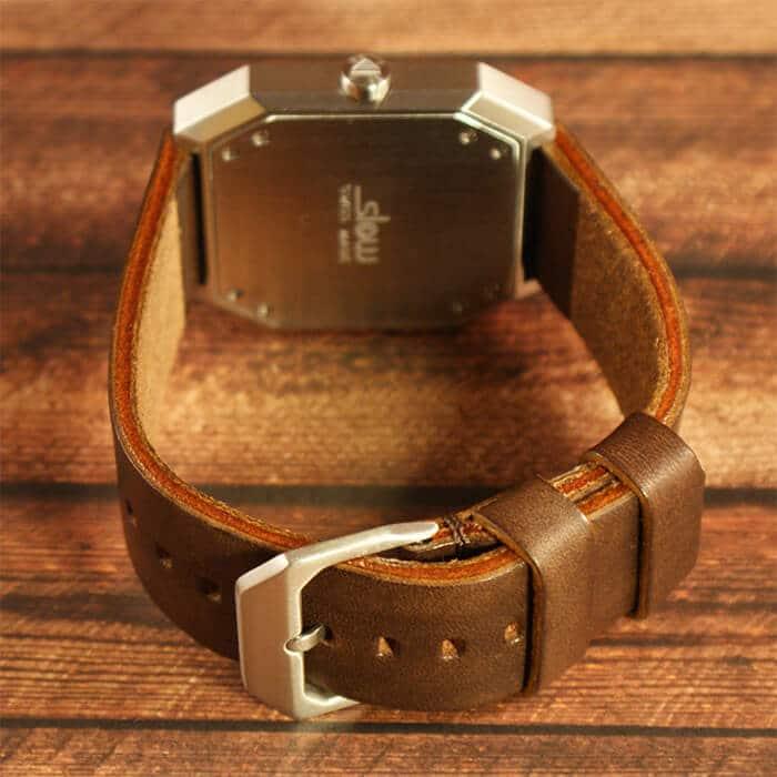 Das Armband der slow Jo 17 wird mittels Dornschließe geöffnet und geschlossen