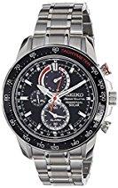 Seiko Herren-Armbanduhr Prospex Chronograph Quarz Edelstahl SSC357P1