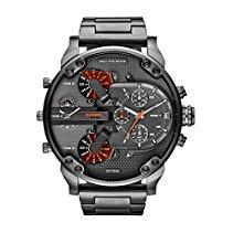 Diesel Herren-Armbanduhr Mr Daddy 2.0 Analog Quarz Edelstahl DZ7315