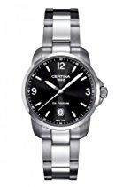 Certina Herren-Armbanduhr XL Analog Quarz Edelstahl C001.410.11.057.00