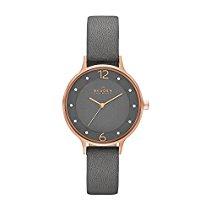 Skagen Damen-Armbanduhr Analog Quarz Leder SKW2267