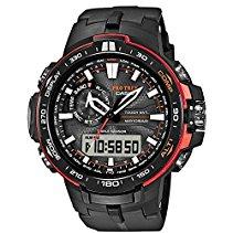 Casio Herren-Armbanduhr XL Pro Trek Analog - Digital Quarz Resin PRW-6000Y-1ER