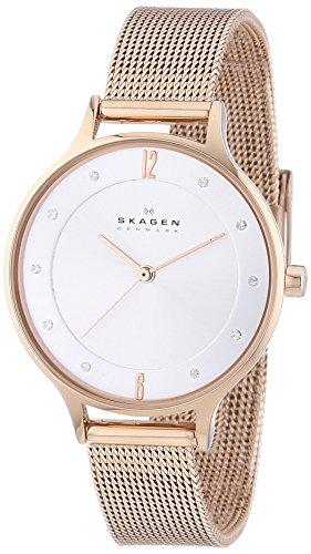 Skagen Damen-Armbanduhr Analog Quarz Edelstahl SKW2151