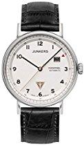 Junkers Herren-Armbanduhr Analog Automatik Leder 67541