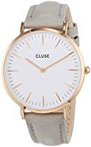 Cluse La Bohème Rose Gold White/Grey Damenuhr CL18015